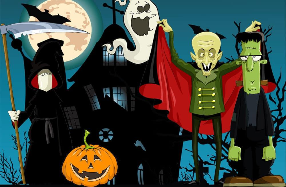 halloween party für kinder