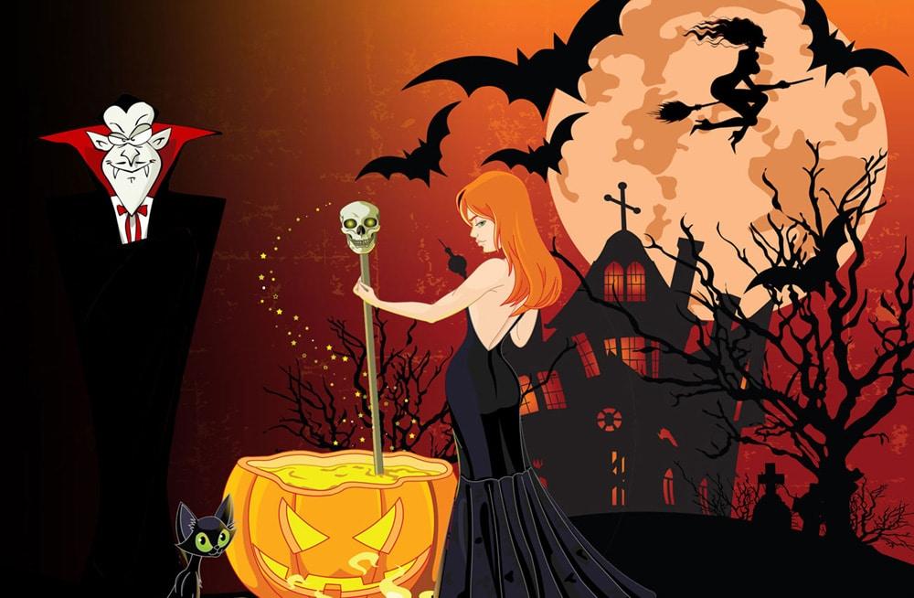 halloween party kinder