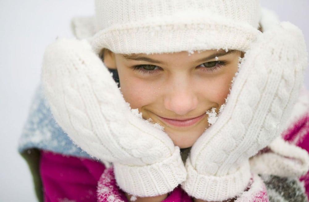schatzsuche draussen im winter